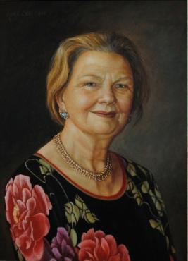 Marianne Bremers Olieverf op paneel 40 x 50 cm