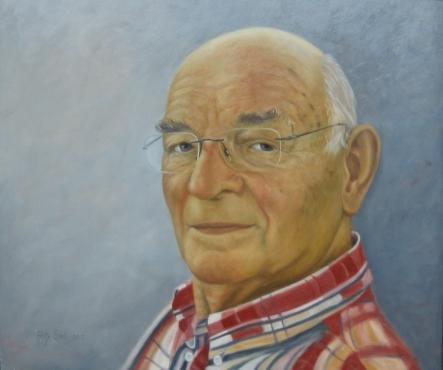 Jan de Groot Olieverf op paneel 60 x 60 cm