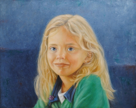 Lotte Olieverf op paneel 35 x 40 cm